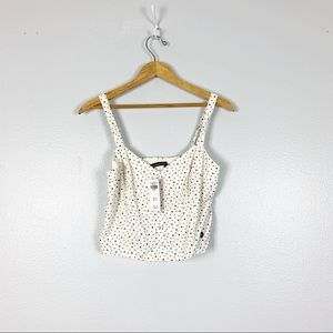Abercrombie & Fitch | Star Print Cropped Tank Top